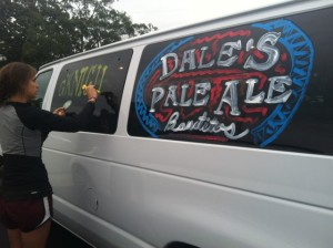 "A daylight look at our van ""tats"""