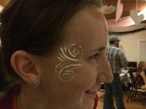 Face paint!