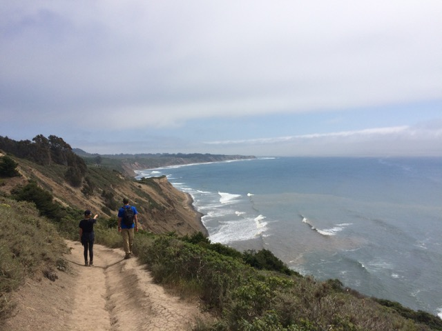 Our Saturday adventure began with a seven-ish mile hike along the coast at Point Reyes National Seashore.