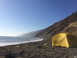 Day 2 campsite - still unreal.